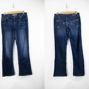 BKE Dark Wash Wendi Stretch Bootcut Jeans